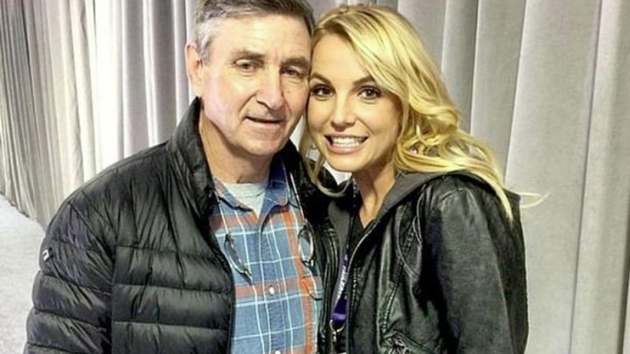Spears' father Jamie has controlled her affairs and finances since 2008. Picture: Supplied