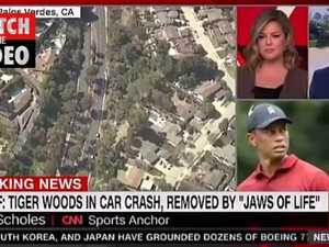 TV anchor makes comments on Tiger Woods crash (CNN)