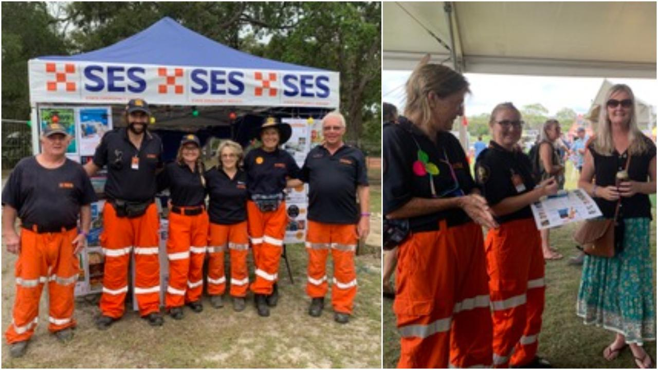 Agnes Water SES Group raffled prizes at the 2021 Agnes Blues, Roots and Rock Festival last month and raised more than $3000 for their organisation.