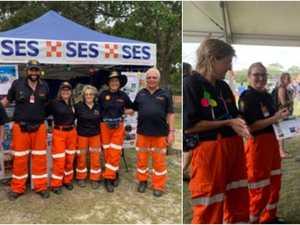 SES group raises $3K at Agnes festival