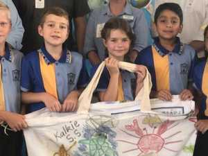 SEE PICS: Kalkie and Bargara students welcome reef experts