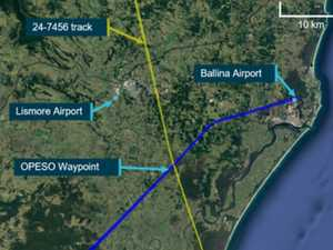 How two planes came within 600 feet of each other at Ballina