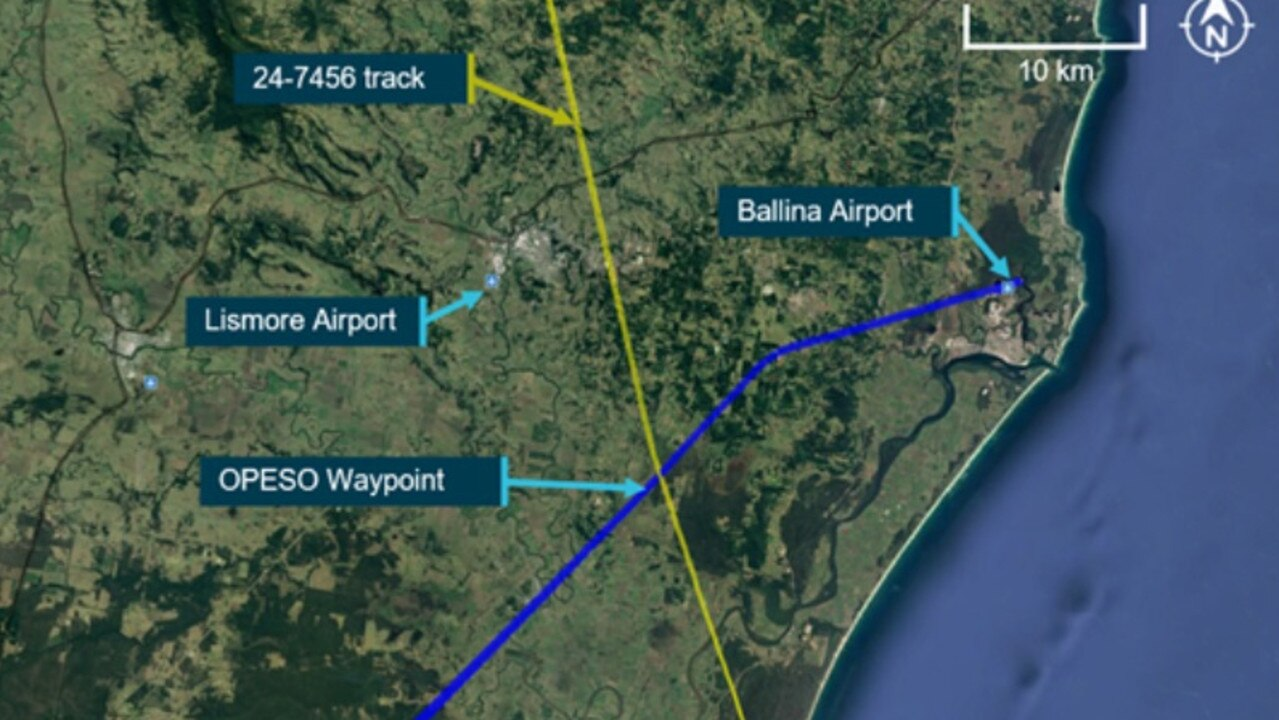 The ATSB is continuing its investigation into a separation issue between two aircraft at Ballina.