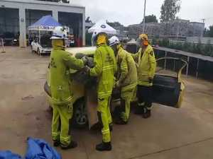 QFES road crash rescue training