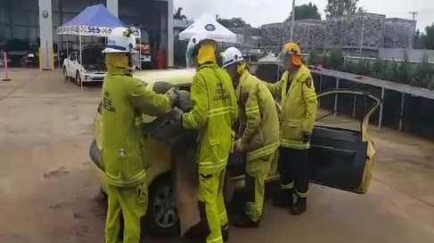 QFES road crash rescue training