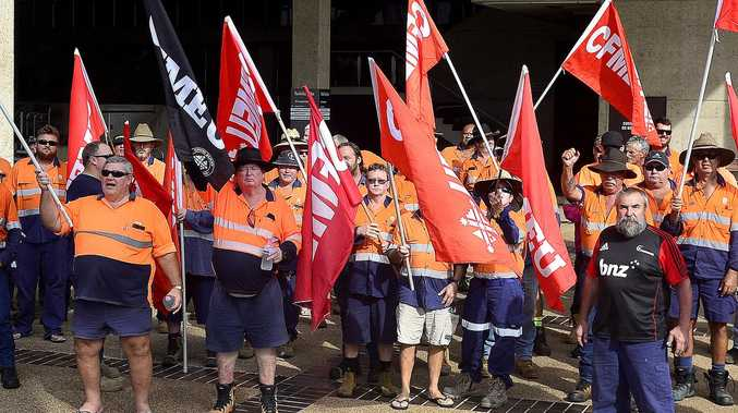'Macho posturing': 300 walk away from militant union