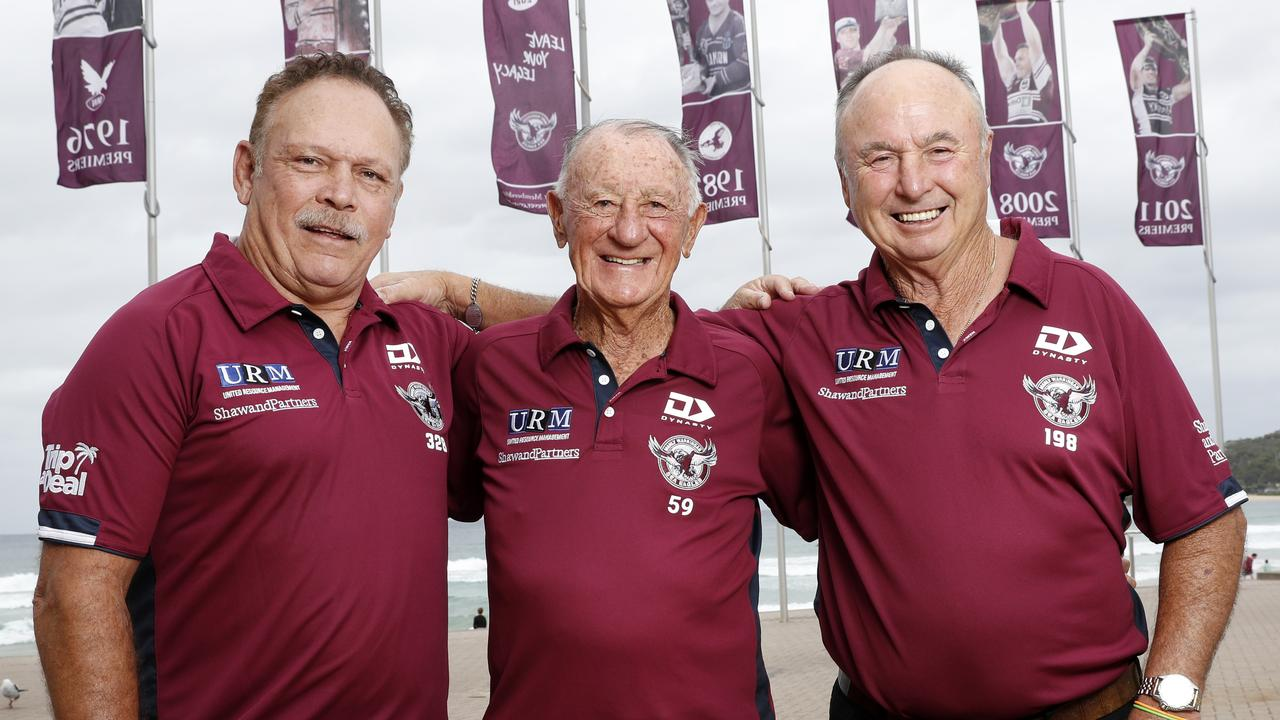 They've been one of the NRL's most hated teams for years, and now the Sea Eagles are taking over the Beaches to celebrate their 75th season.