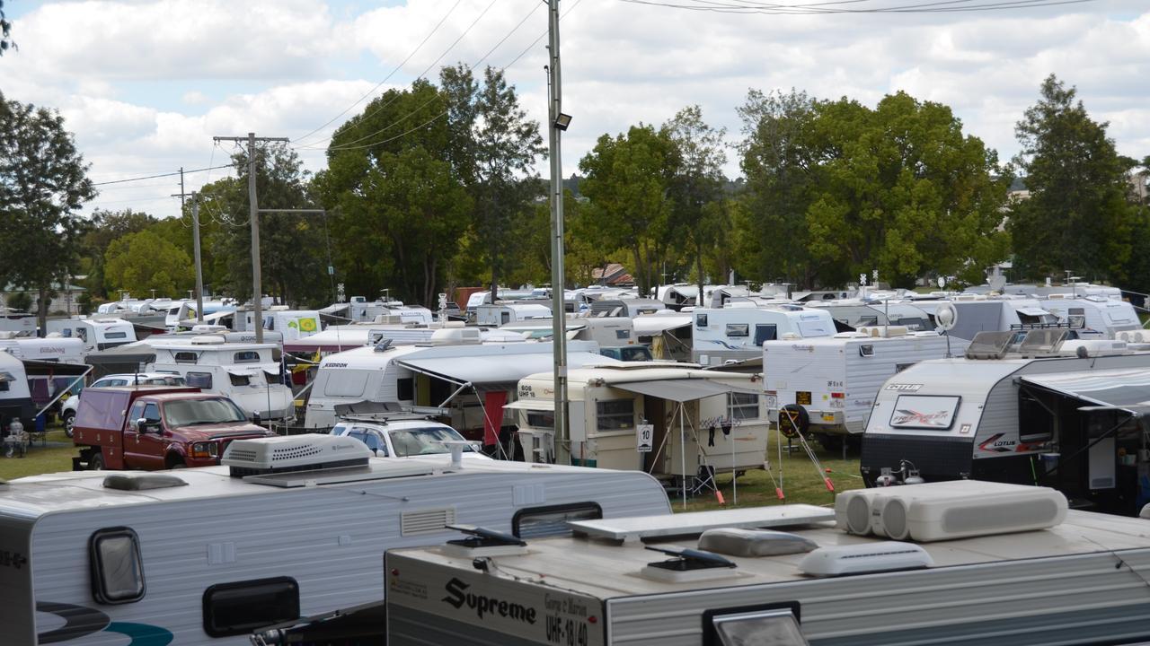 According to the Caravan Industry Association of Australia, the city had 4851 registered vans.