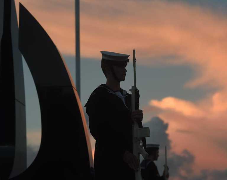 Dawn Service in Ballina on Anzac Day.