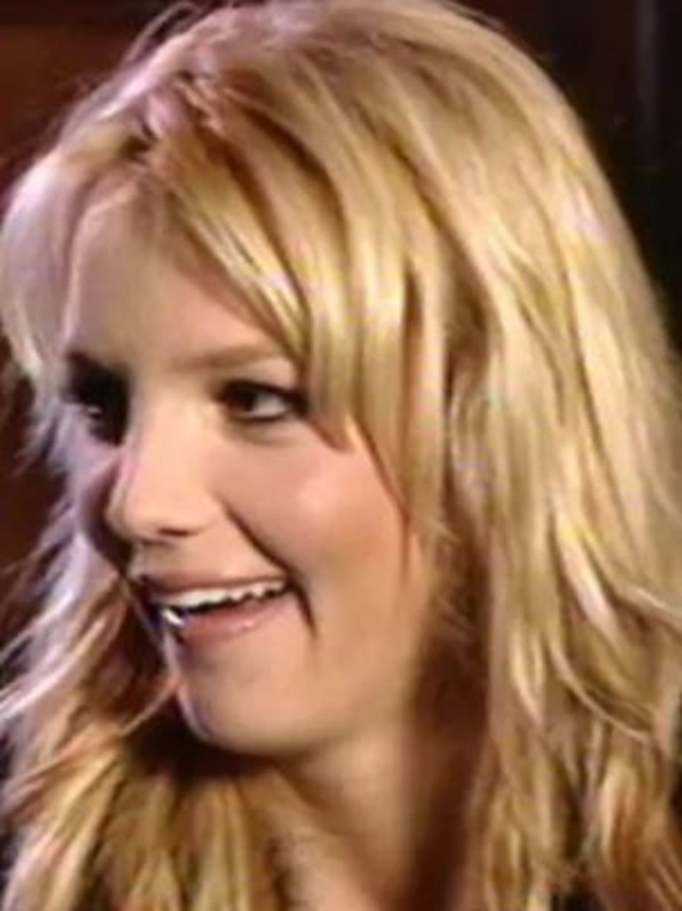 Britney appeared shocked by his question.