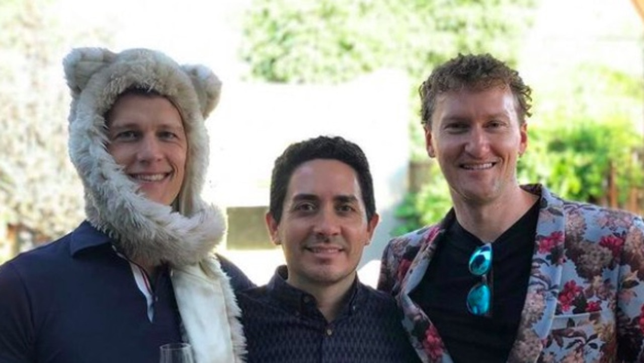 A gay, polyamorous California throuple have explained how they made history becoming the first family to put three parents on a birth certificate.