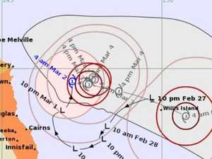 Tropical cyclone develops off Qld coast