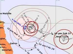 Tropical cyclone develops off Qld coast