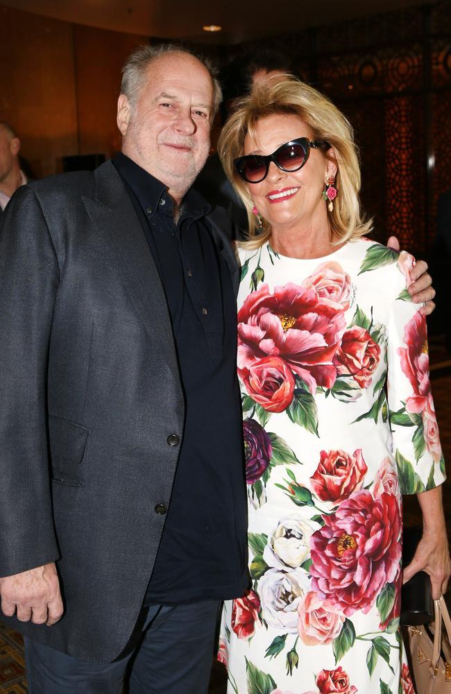 Michael and Sue Gudinski. Picture: David Caird