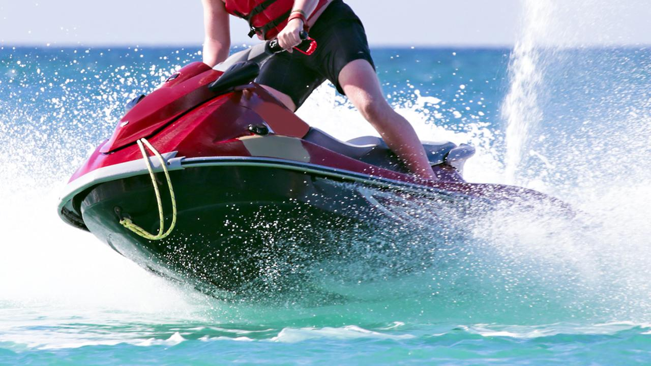 One of the girls was allegedly sexually assaulted by a man on a red jet ski. Credit: istock