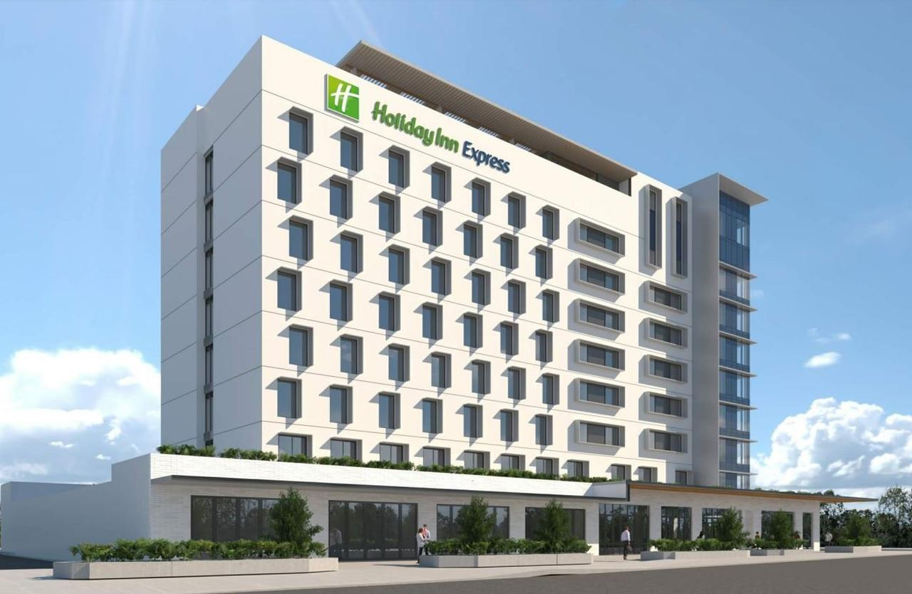 The first sod has been turn on the Coast's first hotel in three decades.