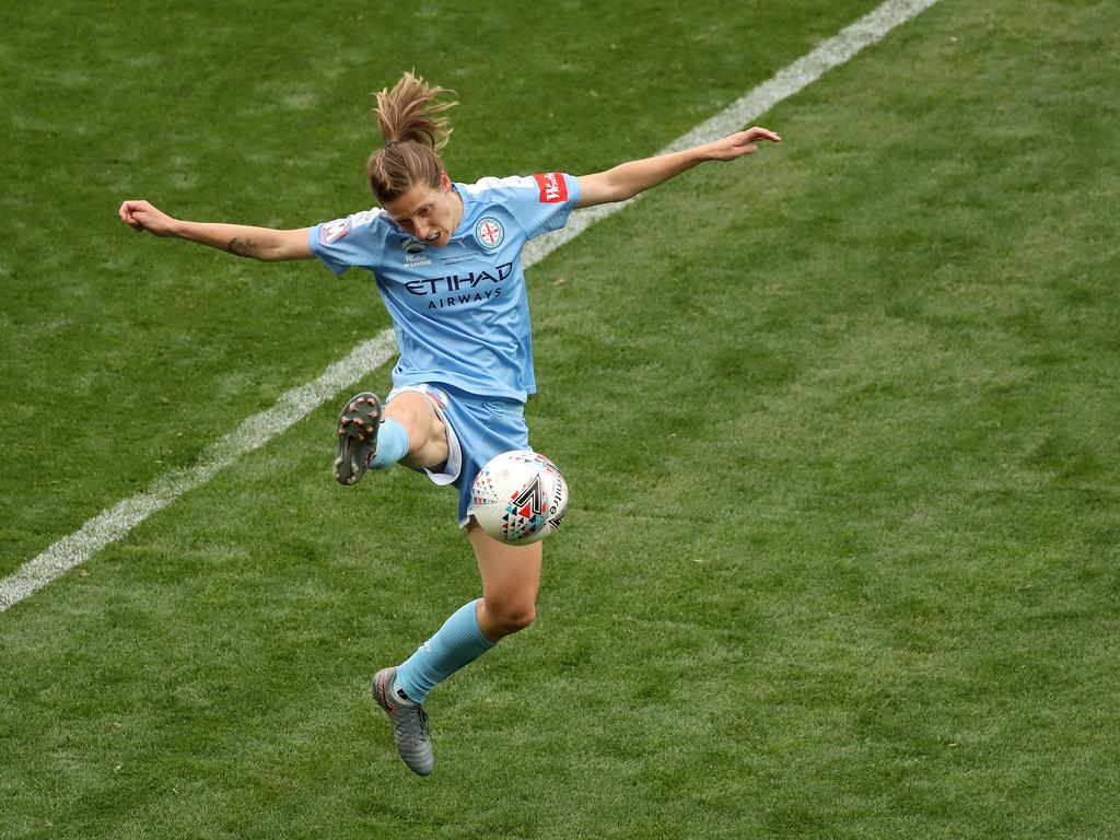 Rebekah Stott of Melbourne City during the W-League Grand Final.