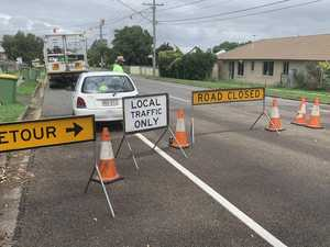 Months-long works prompt closure of major road