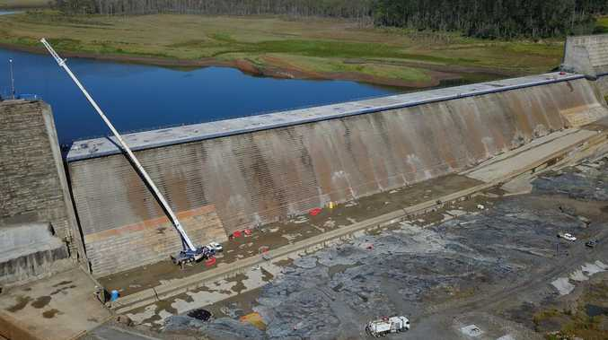 SECURING PARADISE: Latest on dam works, trials