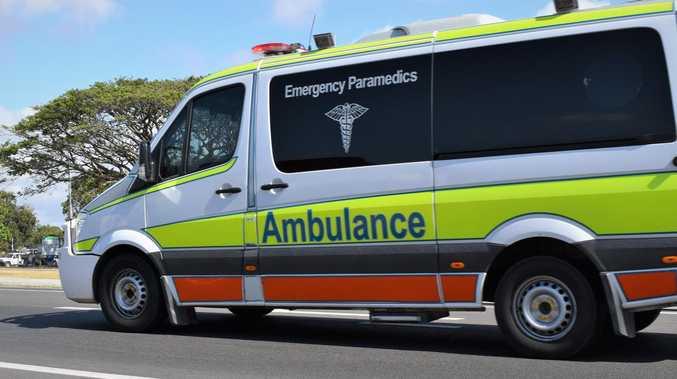 Man hurt after car crashes into pole