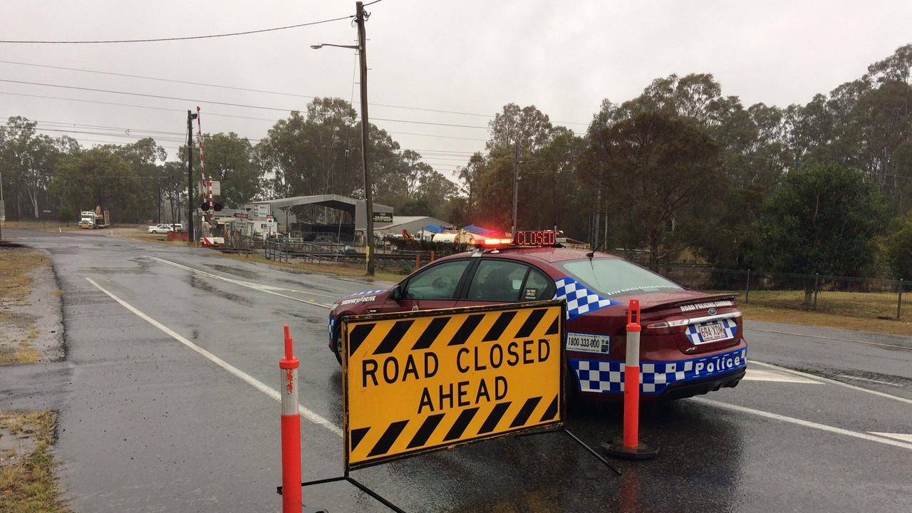 ROAD CLOSED: Traffic is blocked at Miriam Vale from accessing Bindaree Rd. Funding of $1.612m will replace a bridge on the road after it was damaged in the 2019 Queensland bushfires.