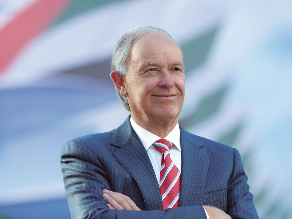 Emirates President Sir Tim Clark. Picture: Supplied