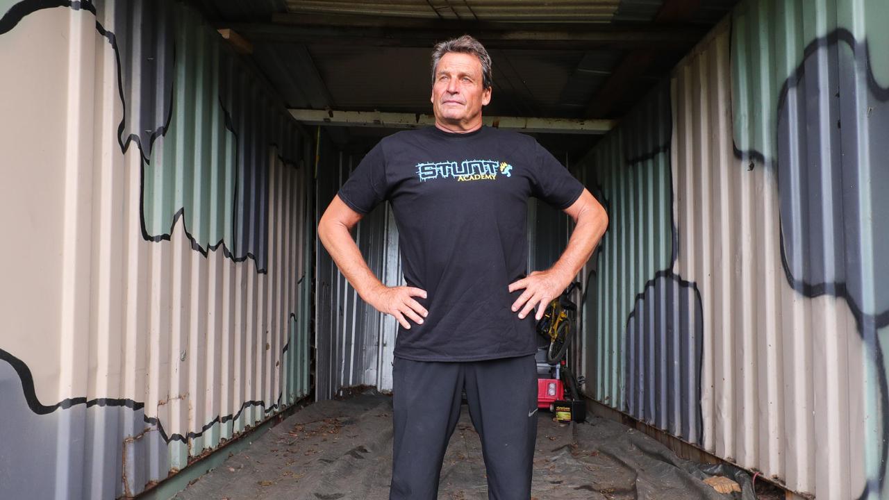Gold Coast stunt academy owner Colin Handley. Picture Glenn hampson