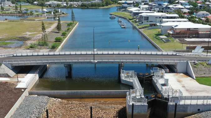 $10.5m bridge, park to open at Pelican Waters