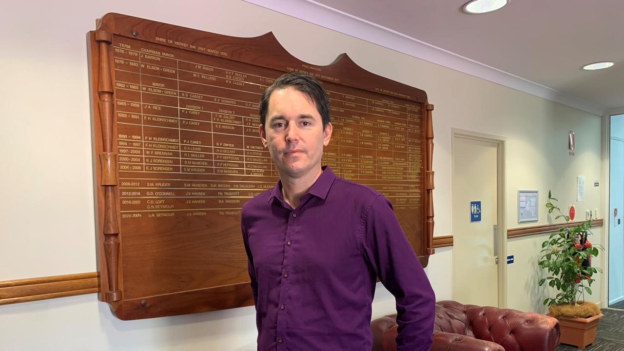 Gympie Mayor Glen Hartwig says he has spoken with Fraser Coast Mayor George Seymour (pictured) about the council's decision to accept the waste, which Mr Seymour voted against.