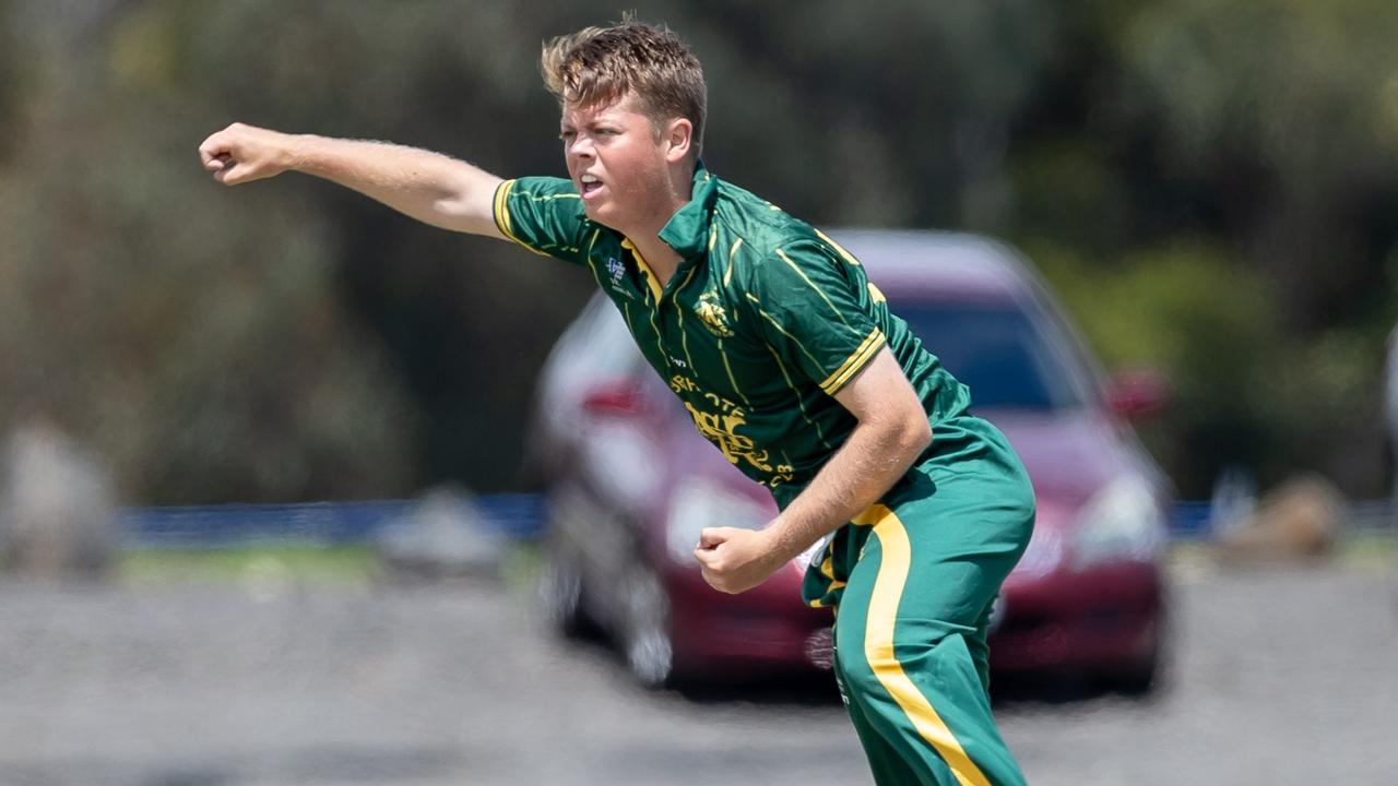 A young Joe Medew-Ewen on debut for Northcote. Picture: Arj Giese.