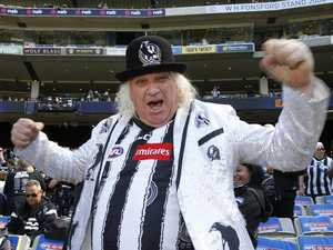 Magpies 'condemn' famous fan's post