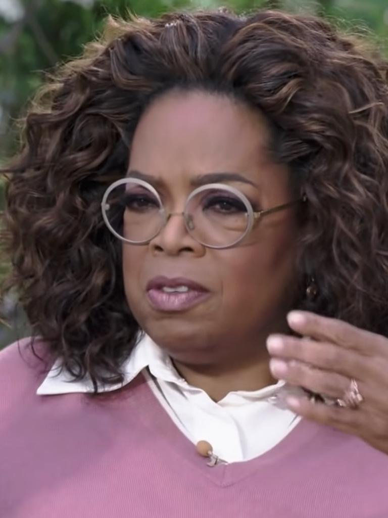 "Winfrey: ""Were you silent or were you silenced?"" Picture: CBS"