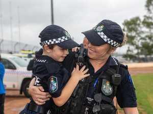 Gatton police make wish come true for 7yo with Leukemia