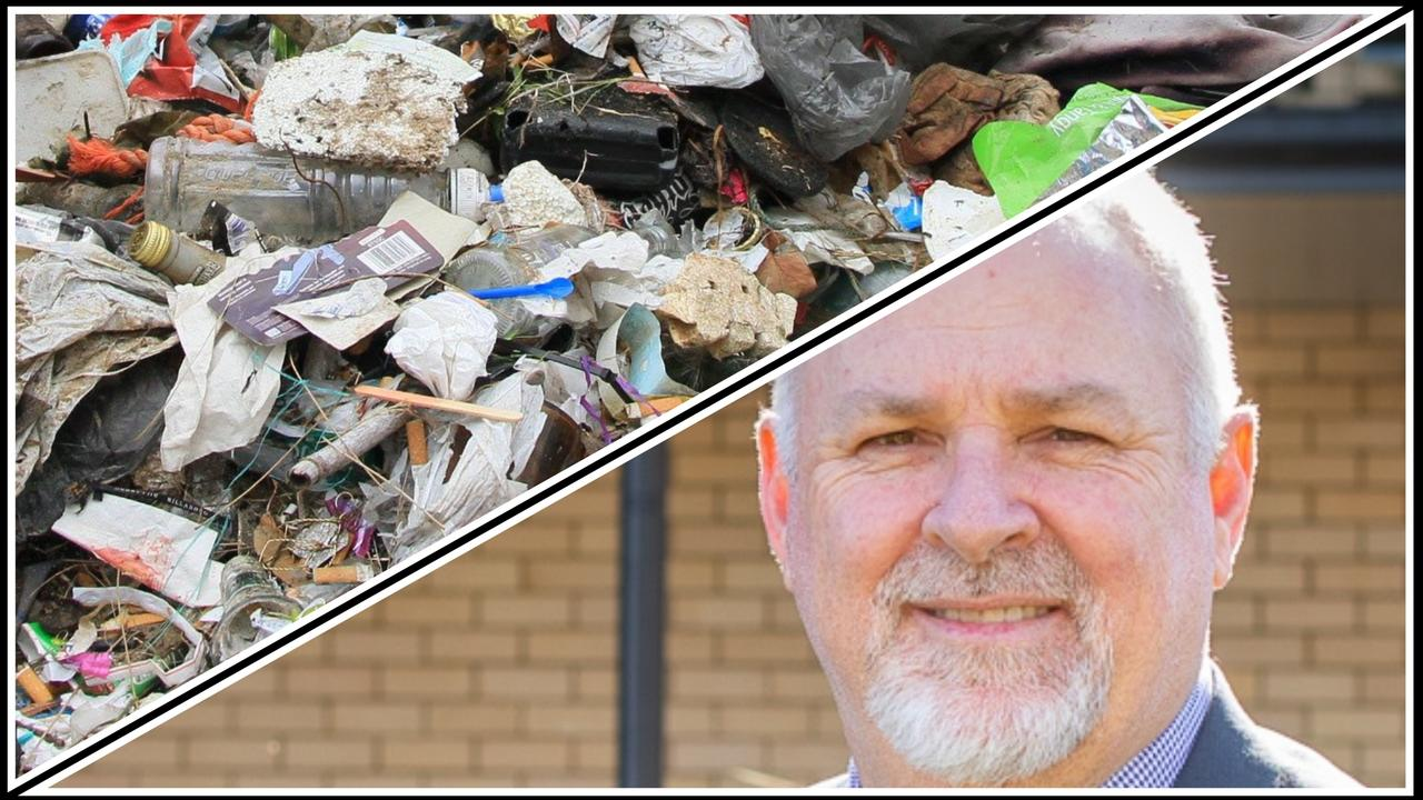 Gympie council CEO Shane Gray says he was surprised to hear about Fraser Coast council's decision to accept waste from this region, as Gympie council has not yet made any decisions about the future of its waste services.
