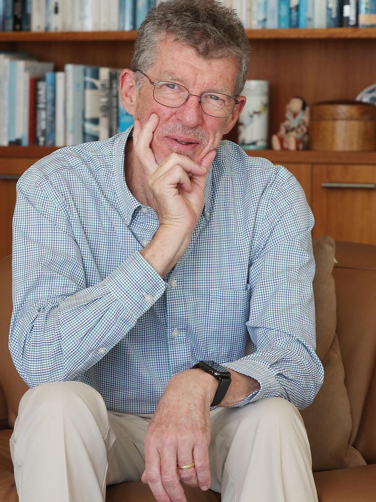 Professor Ian Frazer. Picture: Annette Dew
