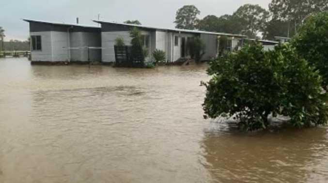 Rainfall figures off the charts from Upper Corindi 'tsunami'