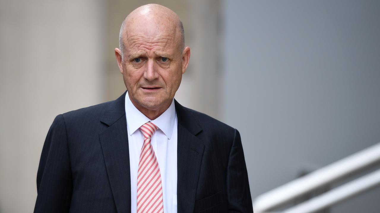 Former senator David Leyonhjelm was ruled to have defamed Greens senator Sarah Hanson-Young. Picture: AAP Image/Joel Carrett