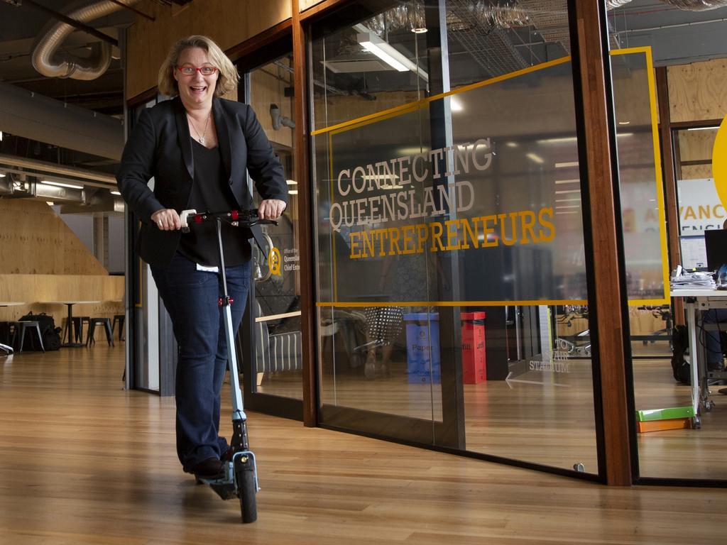 Queensland's former Chief Entrepreneur Leanne Kemp.