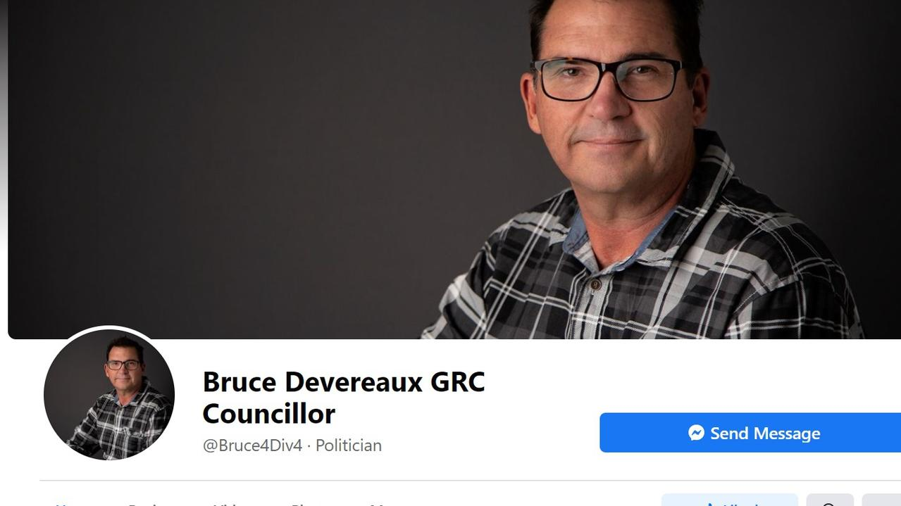 Bruce Devereaux councillor Facebook page
