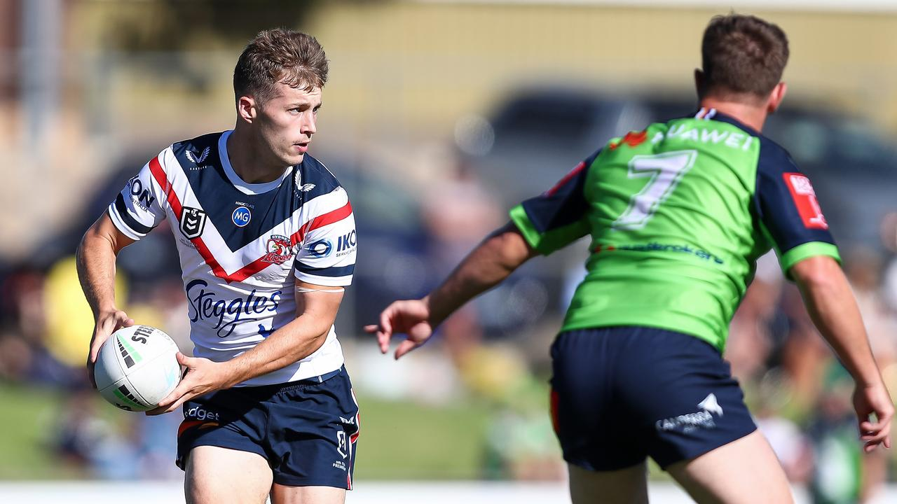 The NRL's hottest halfback prospect Sam Walker has ruled out going home to Queensland and is determined to repay the Roosters faith in him this season.