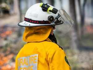 BREAKING: Four fire crews battling Tin Can Bay blaze