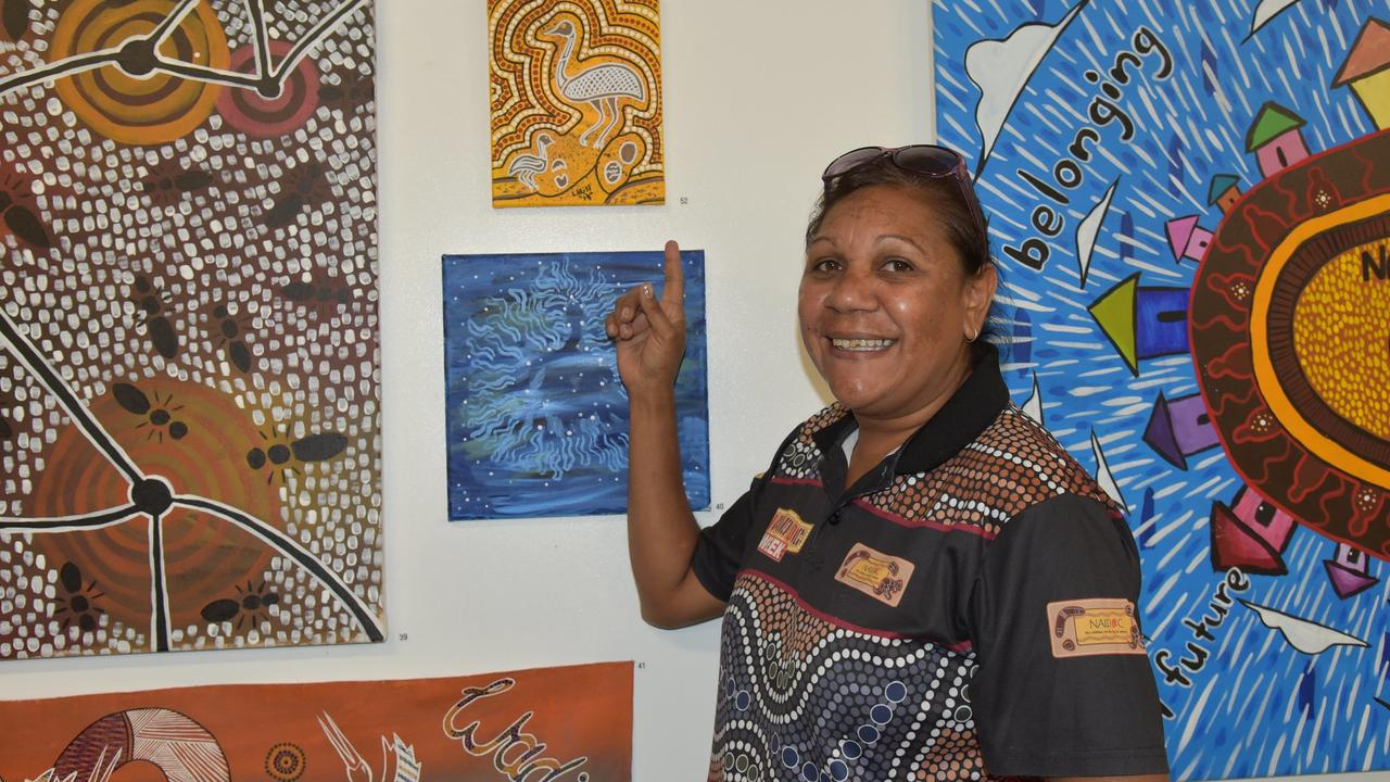 At the Woorabinda Arts and Cultural Centre opening on March 3.
