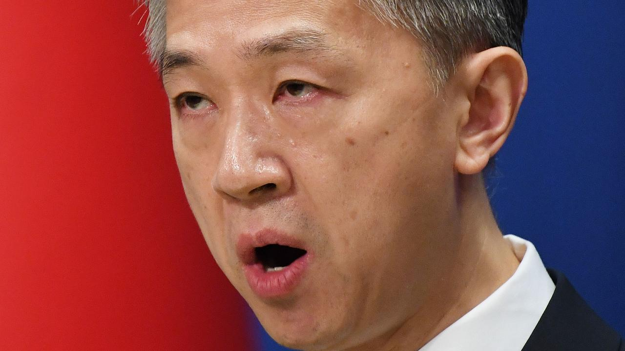 "China's foreign ministry spokesman has demanded Australians ""own up"" to this problem and become ""better citizens""."