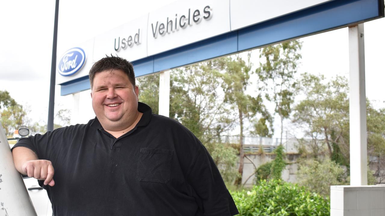 Bremer Ford Dealer Principal Paul Klease. Photo: Ebony Graveur