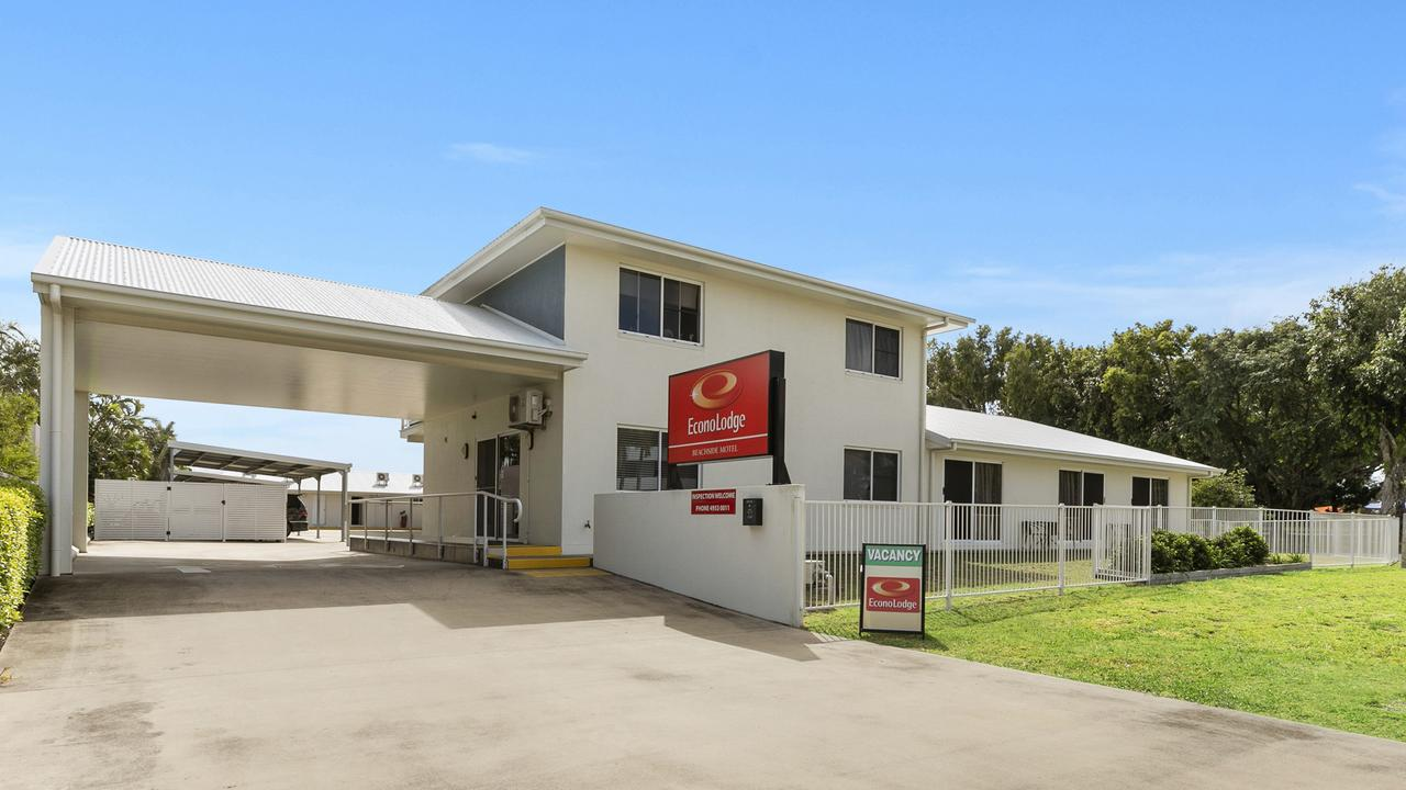 Econo Lodge Beachside Mackay. Picture: Contributed