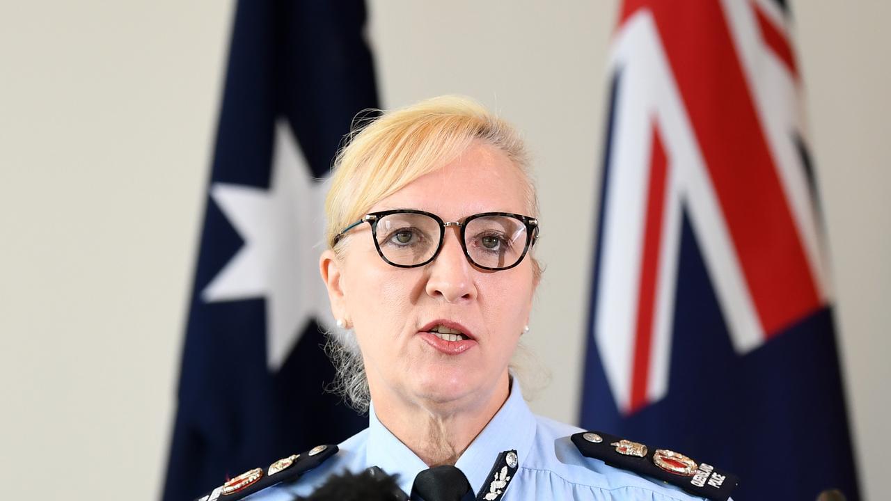 Queensland Police Commissioner Katarina Carroll. Picture: NCA NewsWire / Dan Peled