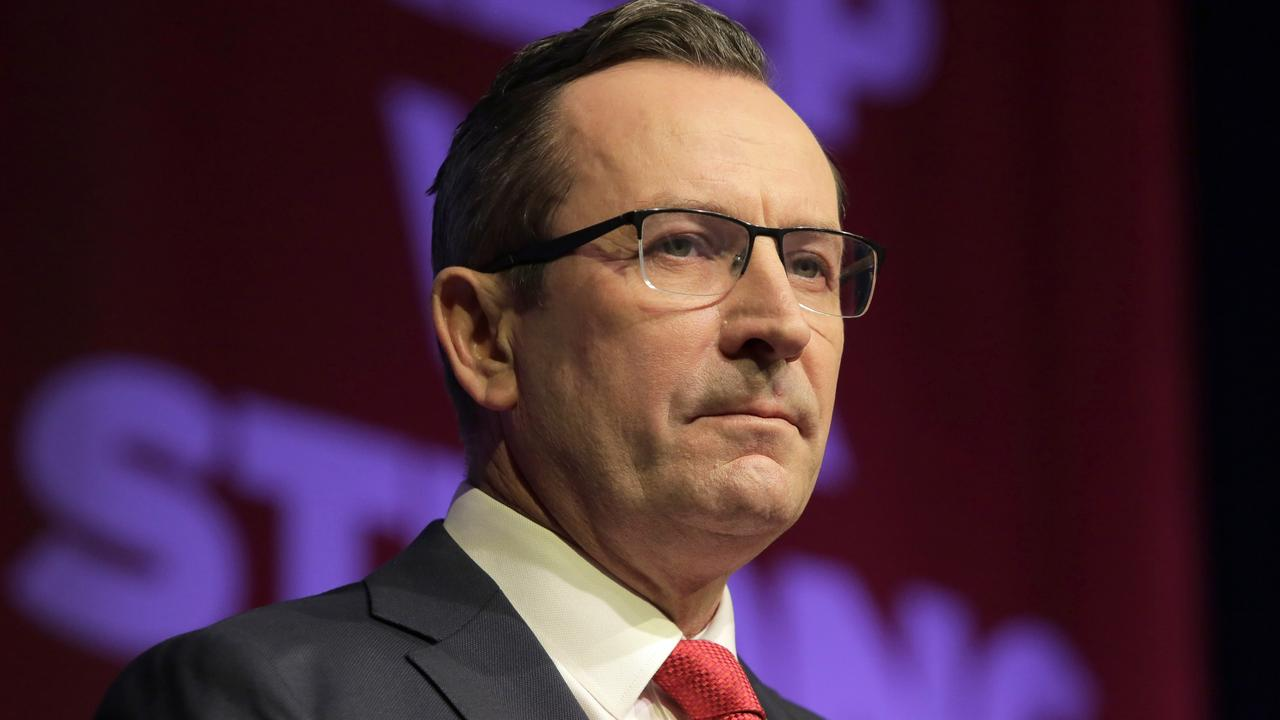 Western Australia Premier Mark McGowan announced the move on Facebook. Picture: NCA NewsWire / Philip Gostelow