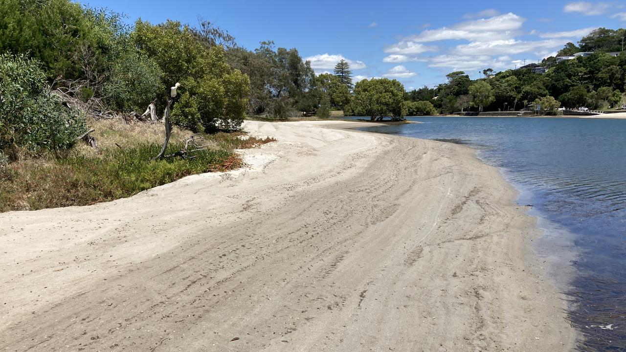 The new beach at Shaws Bay in East Ballina.