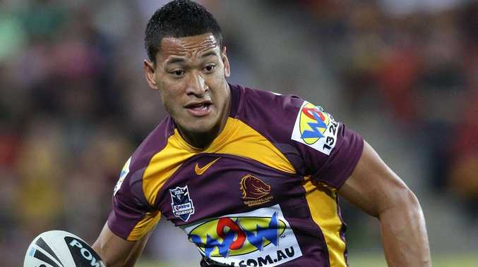 Top Bronco wants Folau to return to NRL