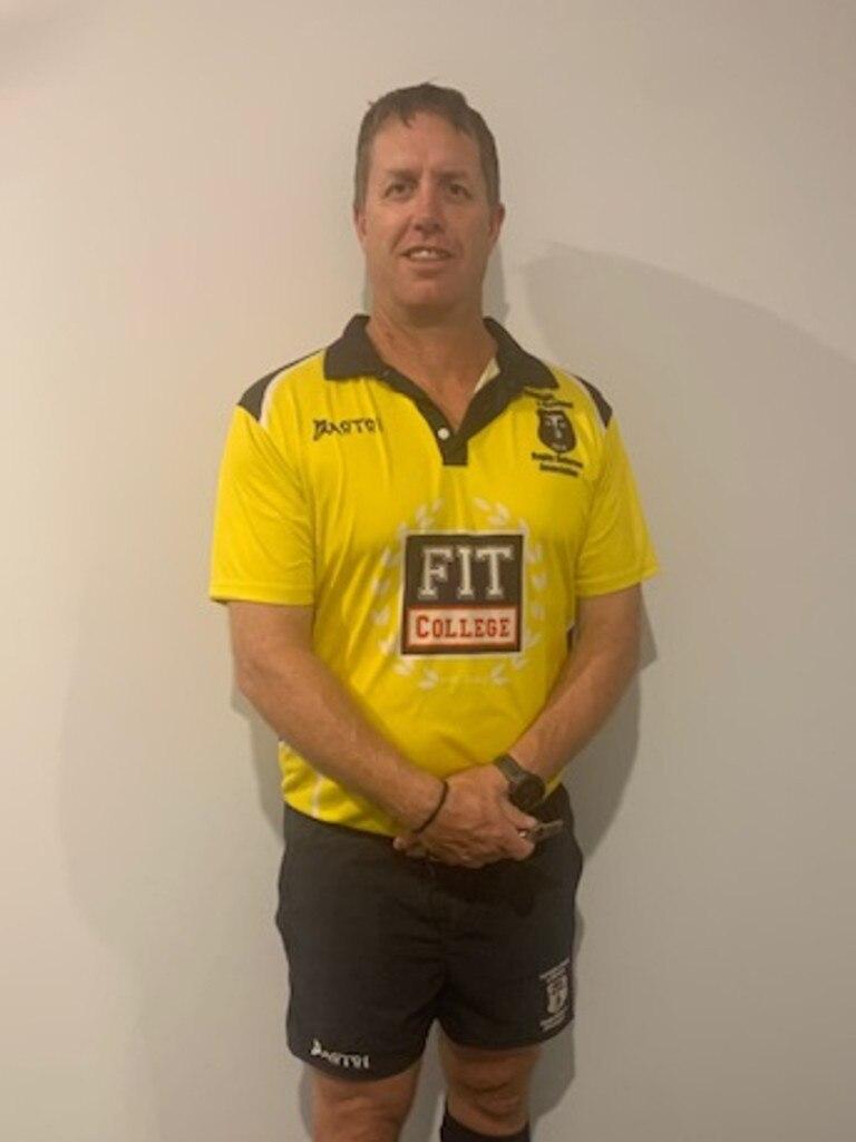 President of Sunshine Coast rugby union referees Shaun McCormack